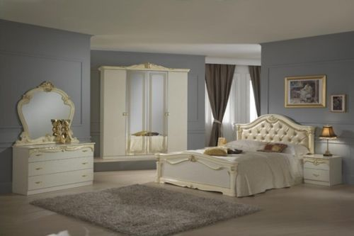 beige italian high gloss bedroom furniture set homegenies rh homegenies co uk high gloss bedroom furniture sets uk high gloss bedroom furniture ikea