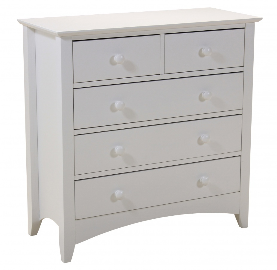 Bedroom Chests Of Drawers: White Bedroom Wardrobe And Chest Of Drawers