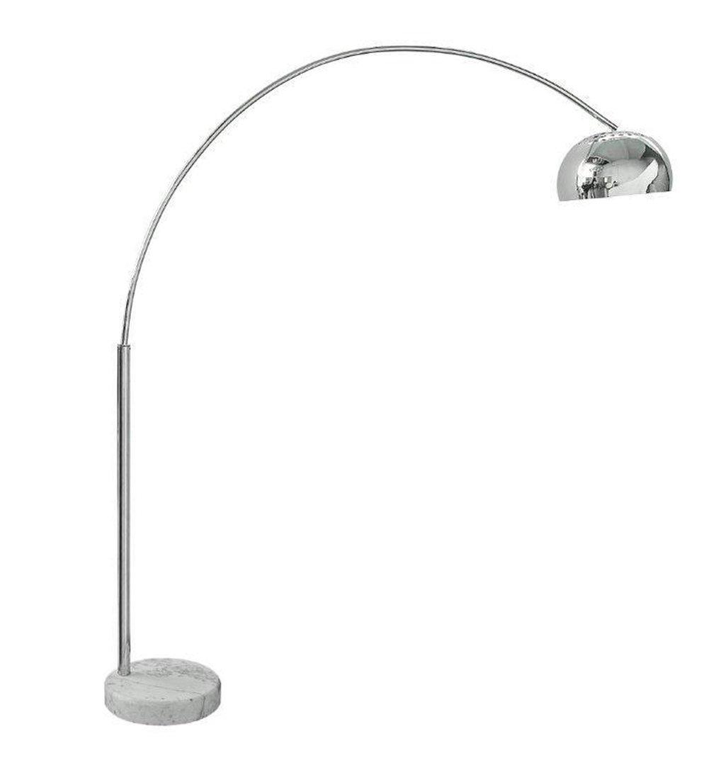 Chrome floor lamp homegenies for 5 arm chrome floor lamp
