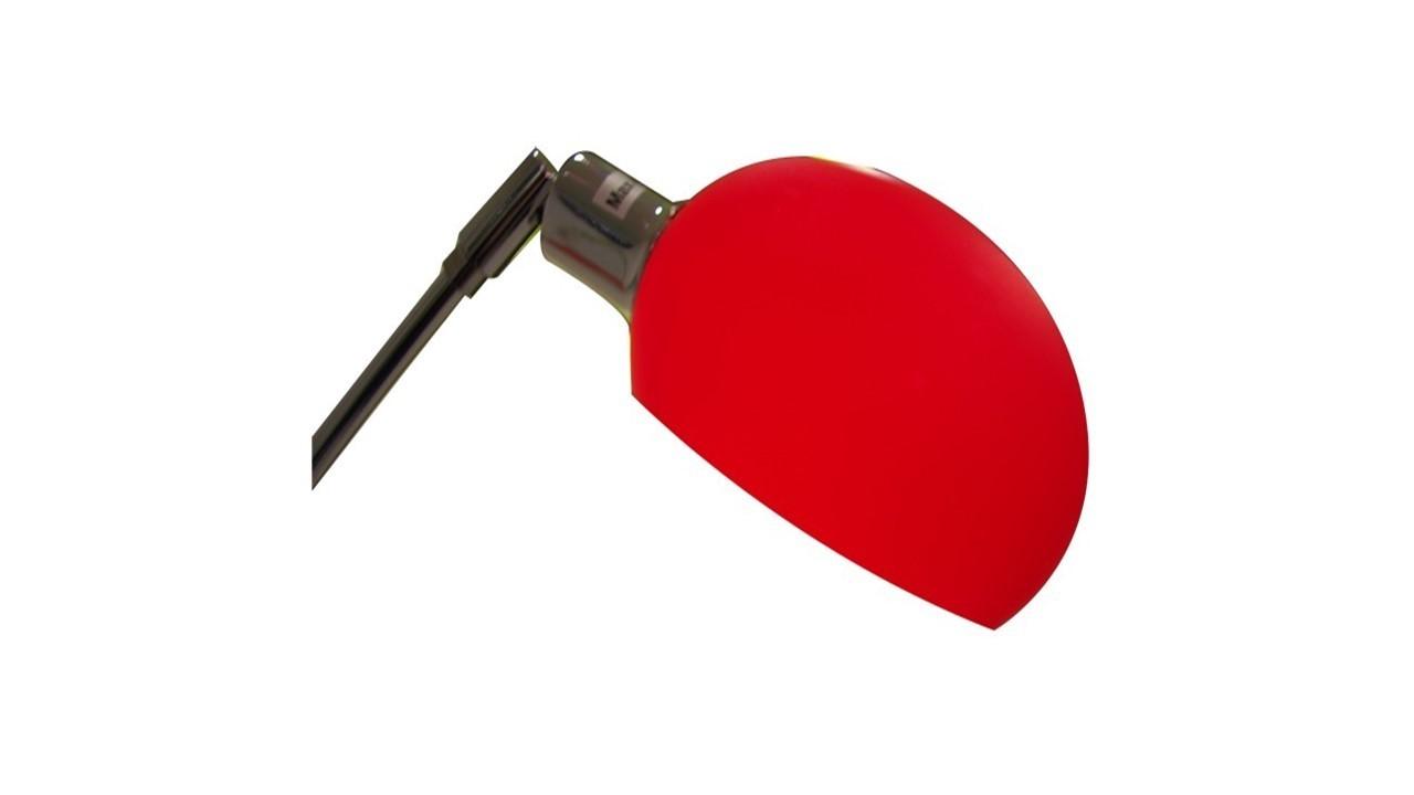 Red shades 5 arm chrome floor lamp homegenies for 5 arm chrome floor lamp
