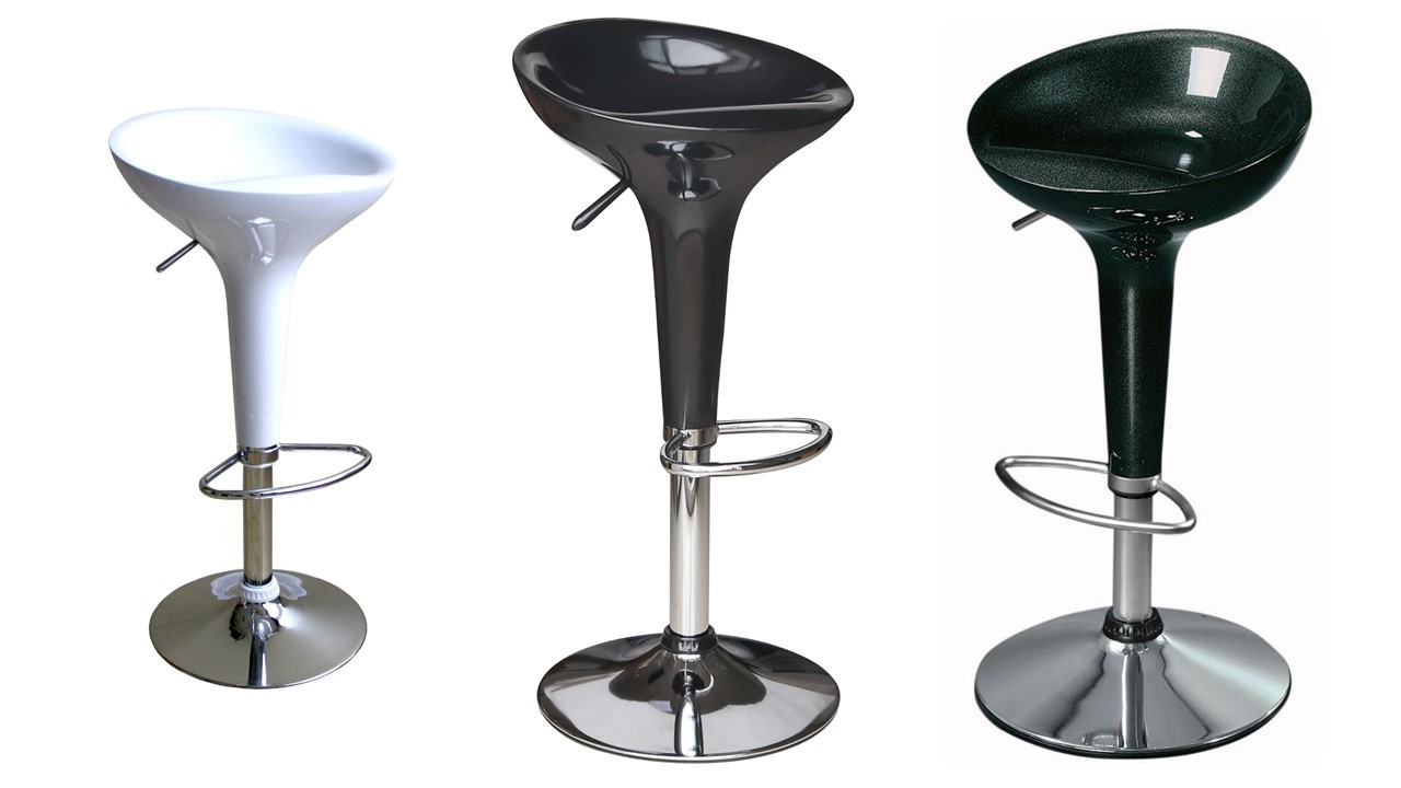 Clear Glass Bar Table And Stools Homegenies