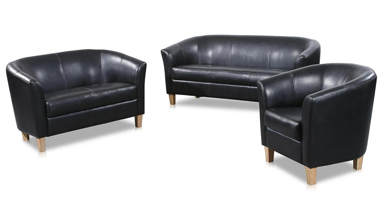 3 2 1 seater sofa faux leather homegenies. Black Bedroom Furniture Sets. Home Design Ideas