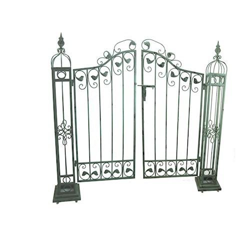 Superieur Ornamental Garden Gates In Bluish Green