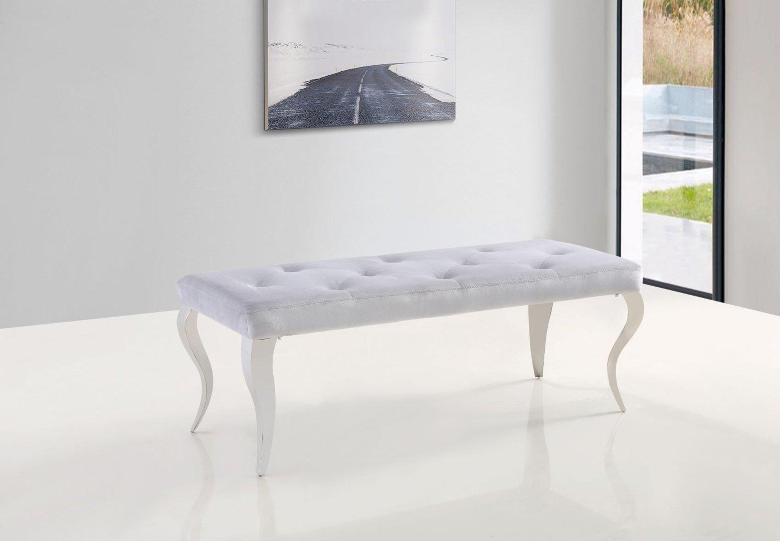Grey Velvet Dining Table Bench Homegenies