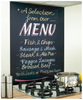 Menu Image Kitchen Black Glass Splashback
