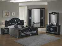 Italian High Gloss Bedroom Furniture Sets