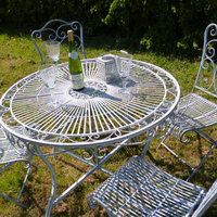 Vintage Metal Garden Furniture