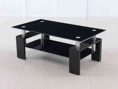 coffee tables in high gloss glass homegenies