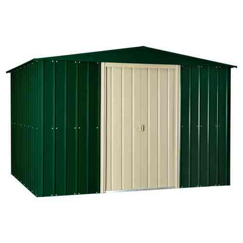 10 x 8ft metal garden shed