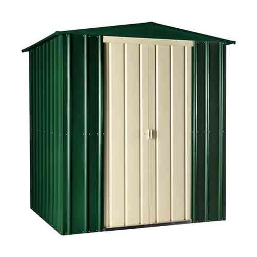 Metal apex garden shed 6 x 8ft