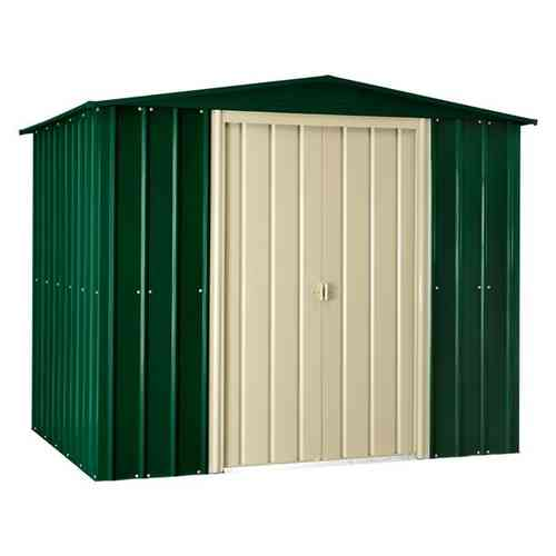 8 x 3ft Metal Garden Shed