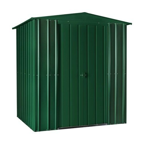 Heritage Green 6x4 metal shed