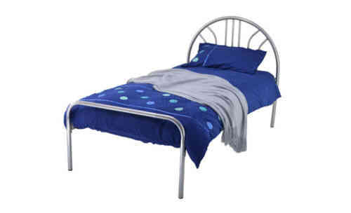 Single kids metal bed frame