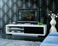 Tv Unit Stands in High Gloss and Glass