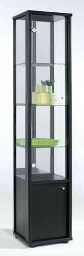 Small Glass 1 Door Display Cabinet