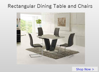 Rectangular Dining Table & Chairs Sets