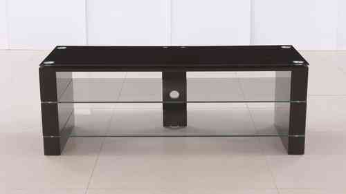 Black Glass High Gloss Tv Stand Unit