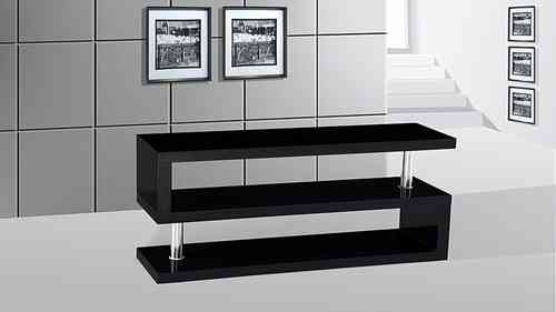 Tv Stand unit In Black High Gloss