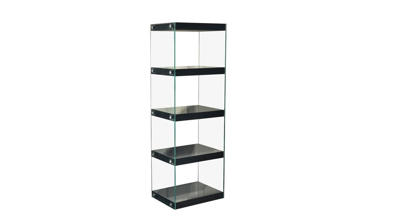 glass shelving unit black white red grey high gloss shelves. Black Bedroom Furniture Sets. Home Design Ideas