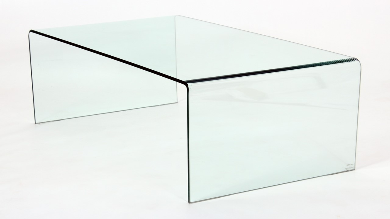 Curved Glass Coffee Table Lamp Table Nest Of Tables Homegenies