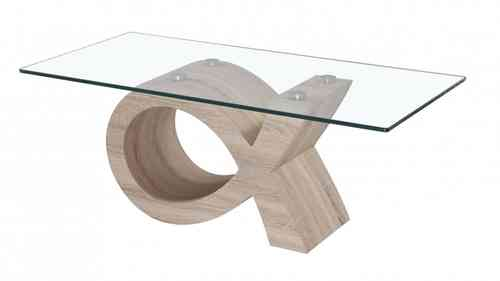 Glass Coffee Table Veneer Base