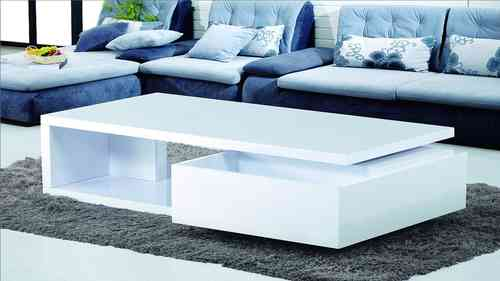Coffee Table in High Gloss
