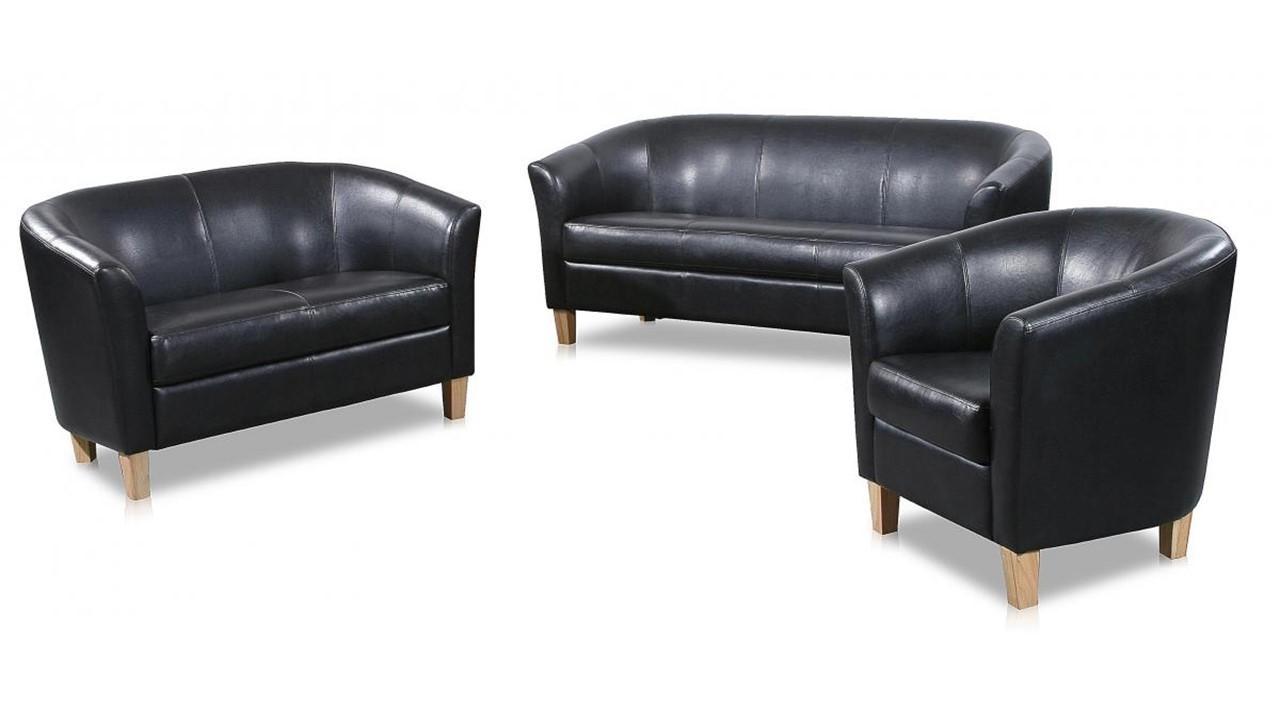 3 2 1 seater sofa faux leather homegenies. Black Bedroom Furniture Sets. Home Design Ideas