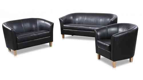 3 2 1 Seater Sofa Faux Leather