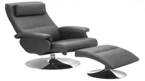 Black Faux Leather Recliner Chair  sc 1 st  Homegenies & Leather and Faric Chairs - Homegenies islam-shia.org
