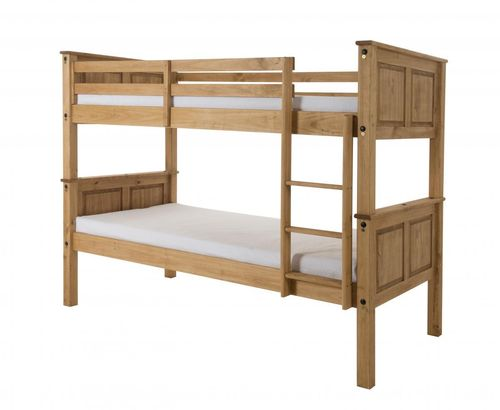 Chunky Pine Bunk Bed