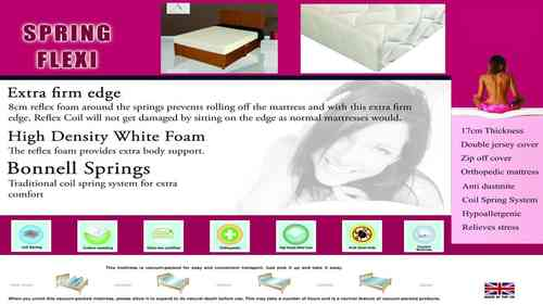 Orthopedic Spring Flexi Mattress