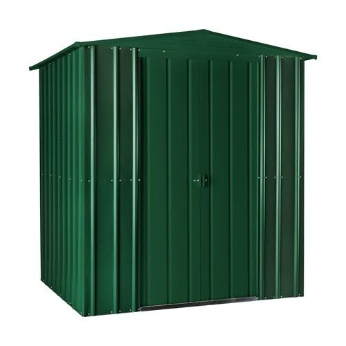 Heritage Green 6x3 Apex metal shed