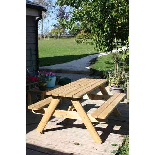 Pine 6 Seater picnic bench
