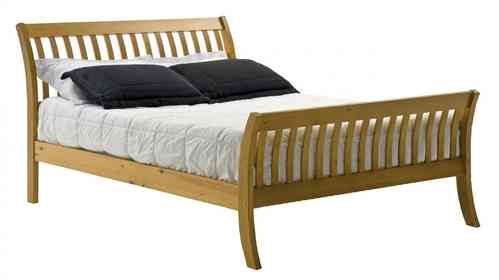Pine Bed in Single, Double, Kingsize