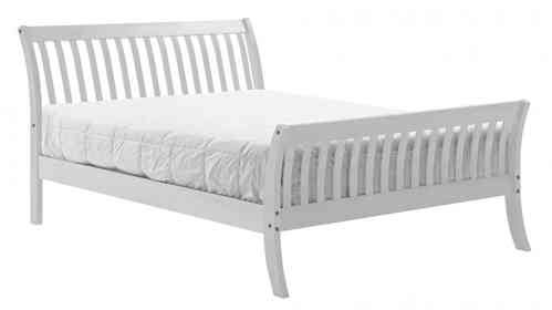 White Pine Bed in Single, Double, Kingsize