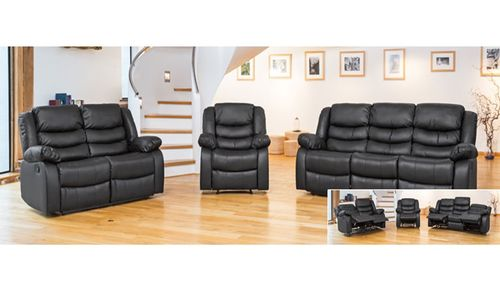Leather Sofa Recliner 1 Armchair, 2 Seater Sofa, 3 Seater Sofa sets