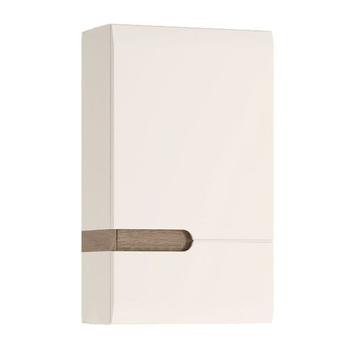White high gloss RH door wall cupboard