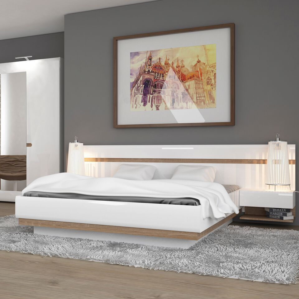 Awe Inspiring White High Gloss Kingsize Ottoman Bed Gmtry Best Dining Table And Chair Ideas Images Gmtryco
