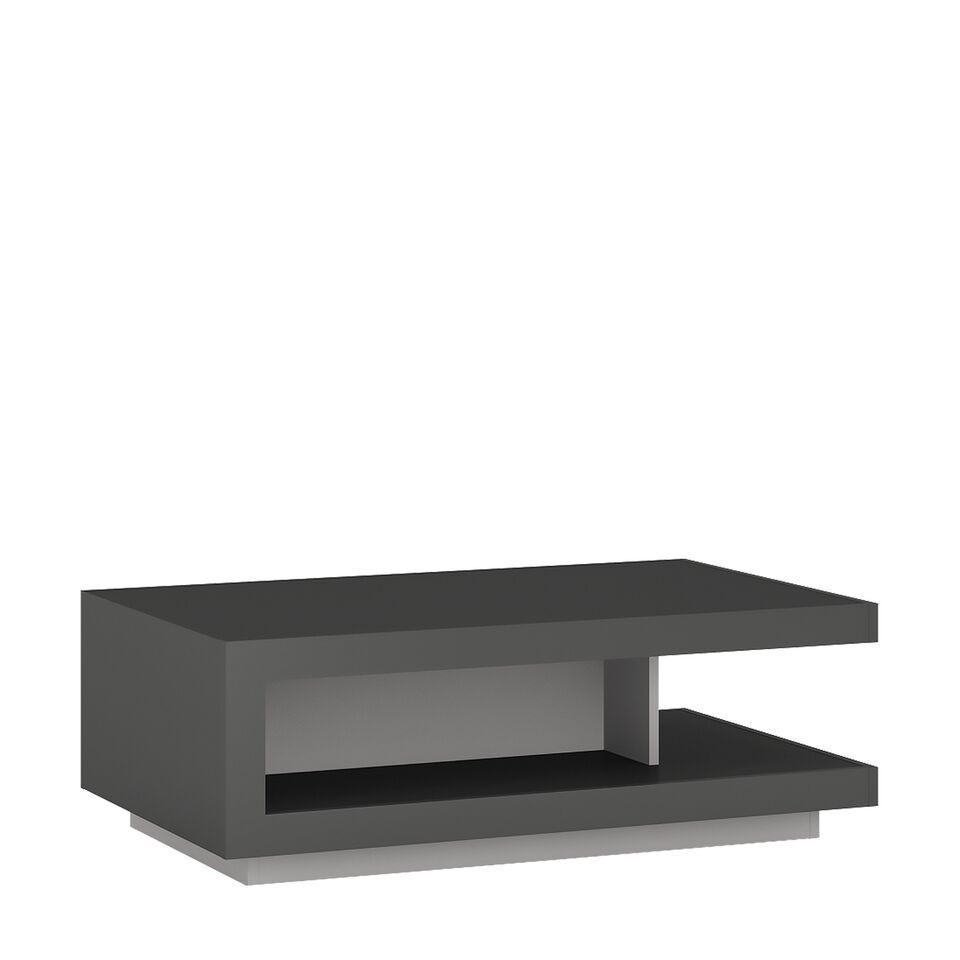 Grey High Gloss Coffee Table Uk: Modern Grey High Gloss Coffee Table