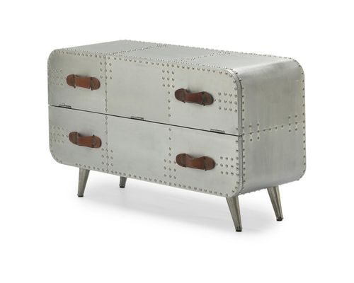 Aluminium furniture 2 Drawer Chest