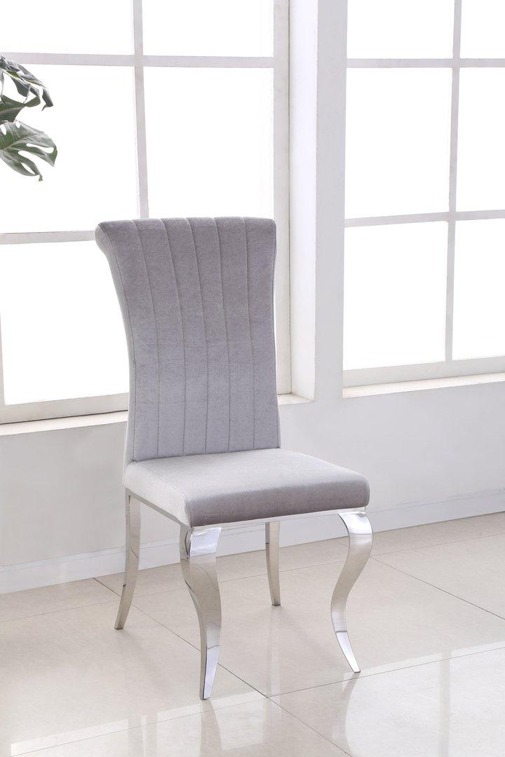 160cm Black Glass Dining Table Amp 6 Grey Velvet Chairs