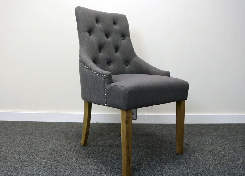 Mink Dining Chair With Knocker