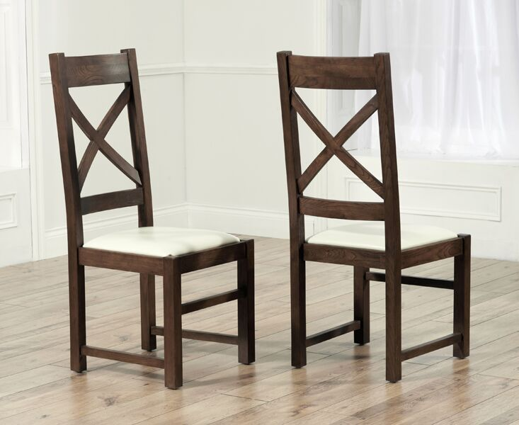 Fine Extending Round Dark Oak Dining Table And 6 Chairs Onthecornerstone Fun Painted Chair Ideas Images Onthecornerstoneorg