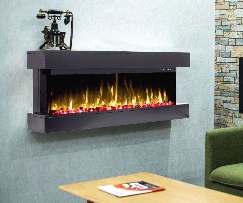 Wall mounted electric fires, LED Fires