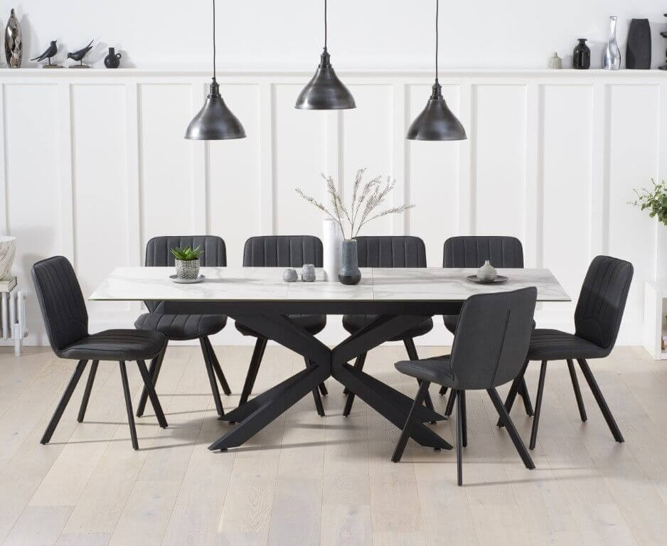Dining Table and 8 Chairs Sets
