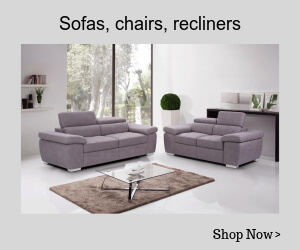 sofa, chairs, recliners